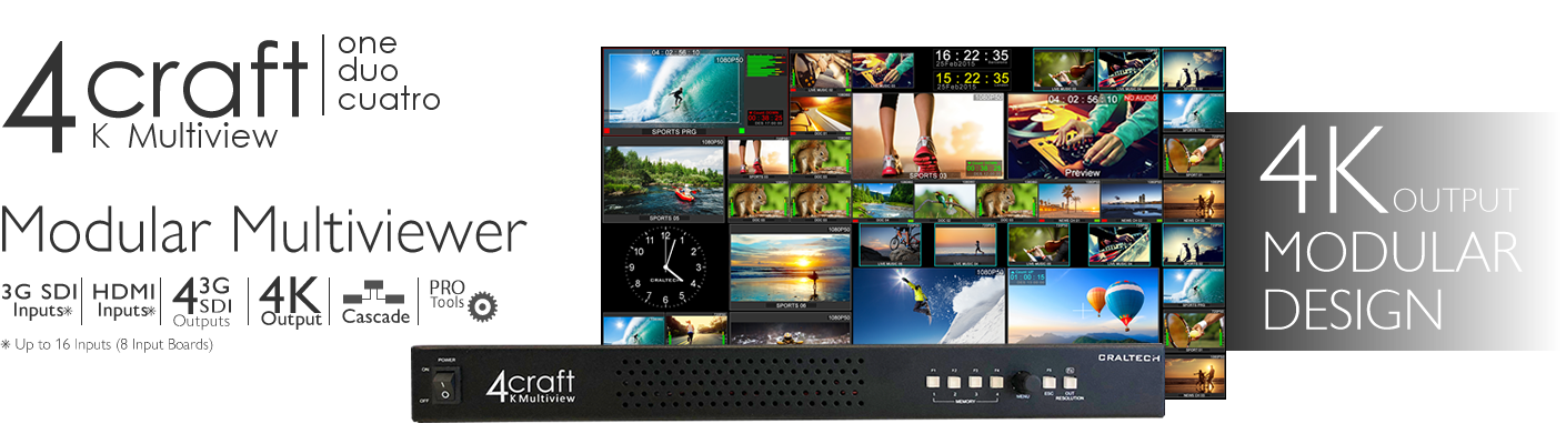 Craltech: Manufacturers of Broadcast LCD monitors and