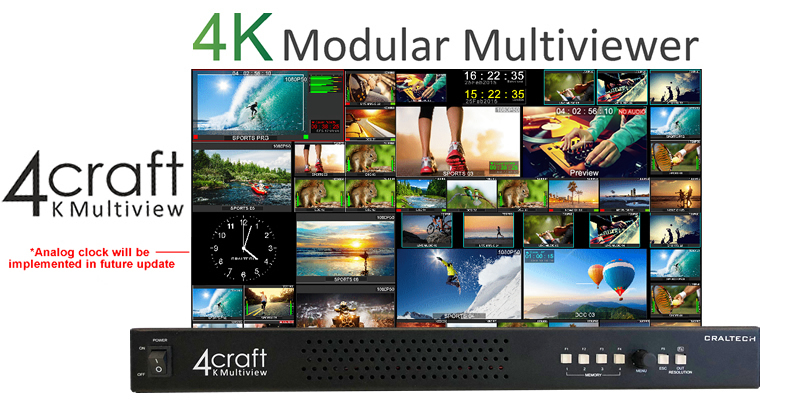 4K Modular Multiviewer
