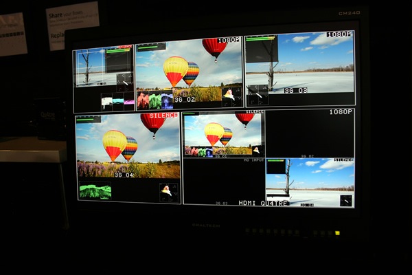 Modular Multiviewer LCD Monitors 3G/HD/SD-SDI, HDMI, CVBS Boxes